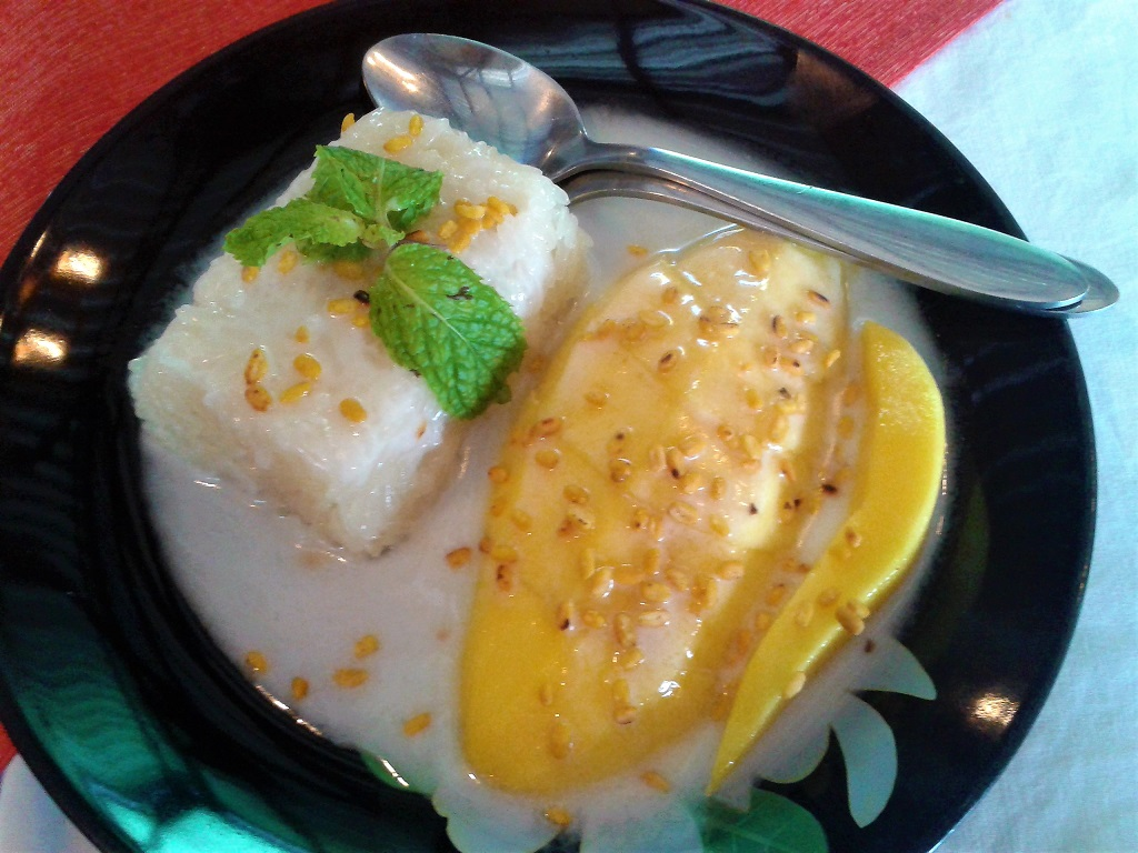 Coconut Rice and Mango
