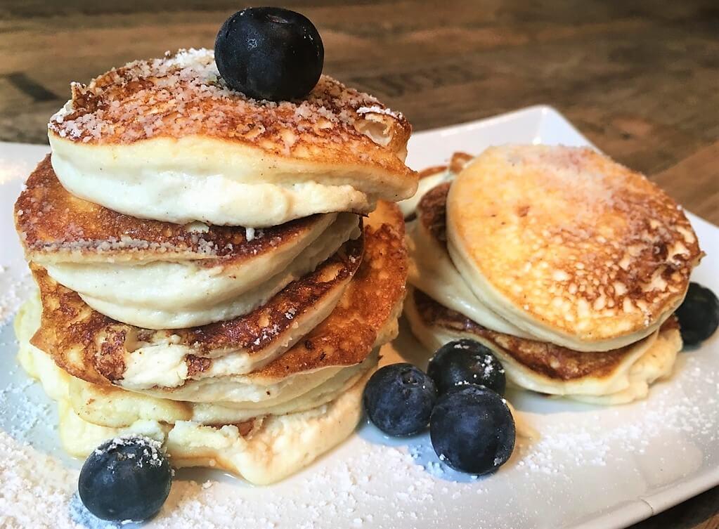 Käsekuchen Pancakes