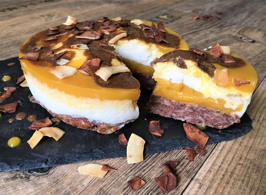 Mango Schichtkuchen