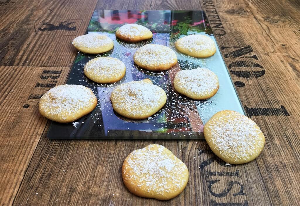 Fluffige Cheesecake Kekse