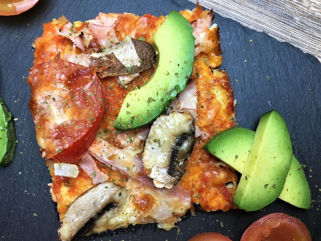 lowcarb Cauliflower Pizza Crust
