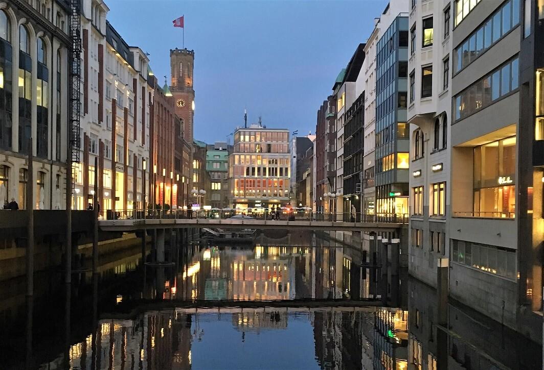 Hamburg City Lights