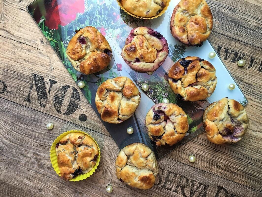 Leichte Quark Muffins