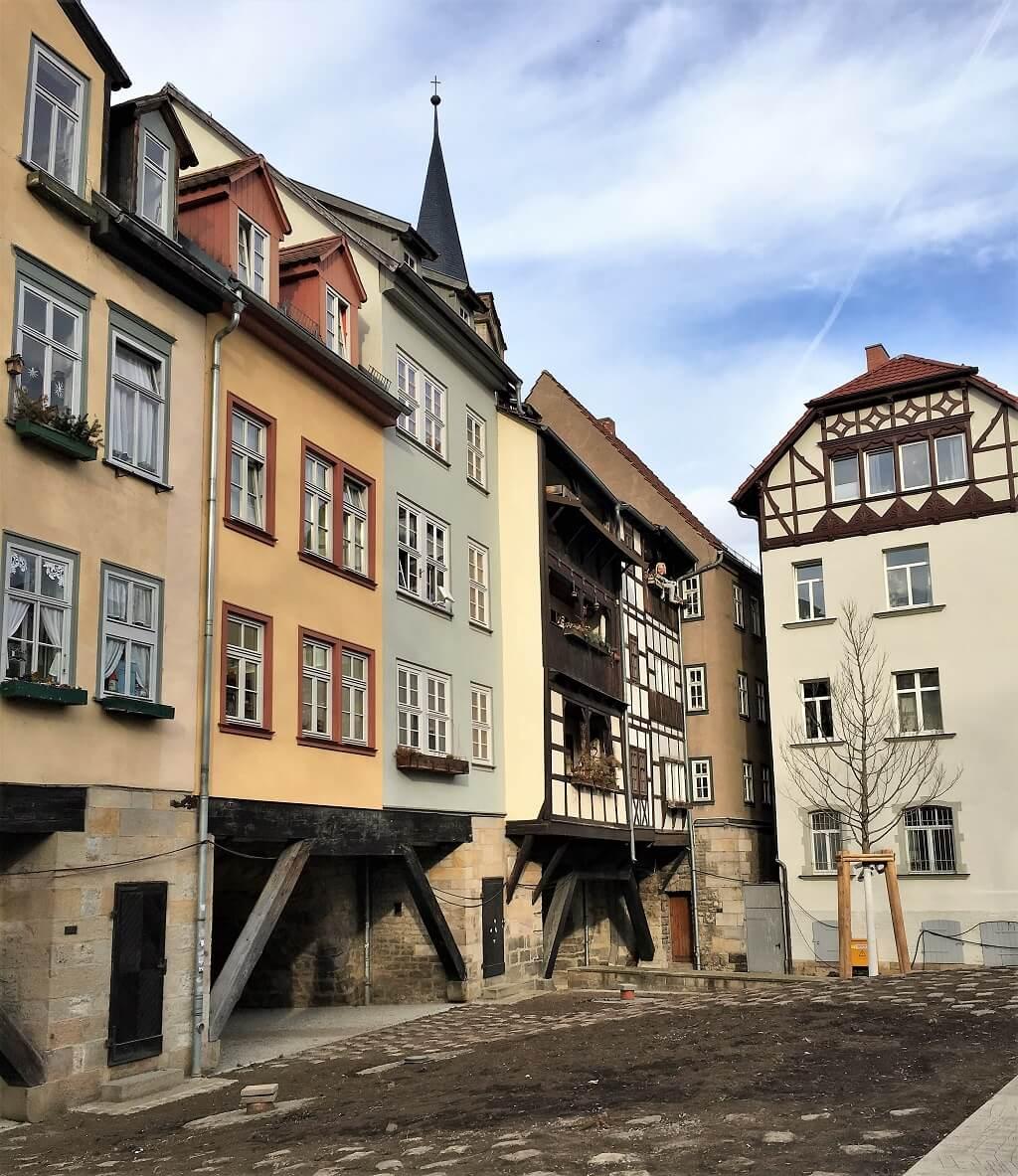 Fachwerkhäuser auf der Krämerbrücke