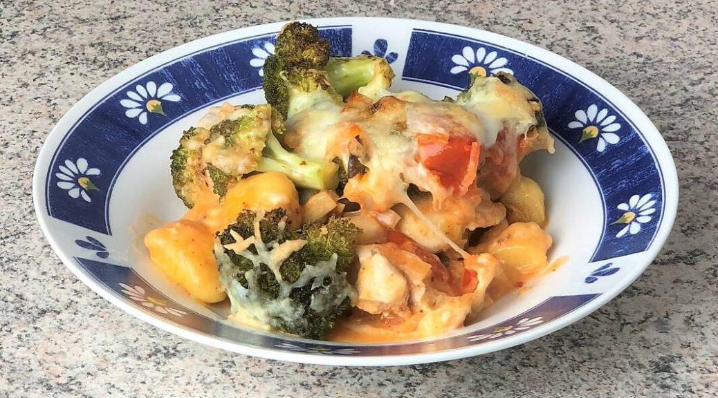 Gemüse Auflauf mit Gnocchi