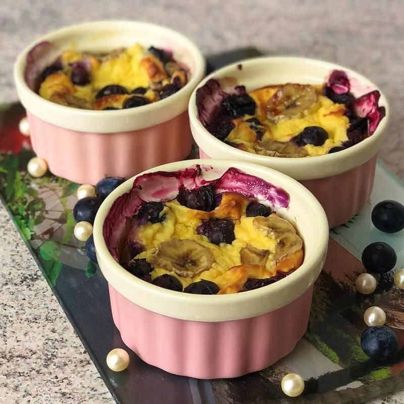 Couscous Auflauf in drei Portionen