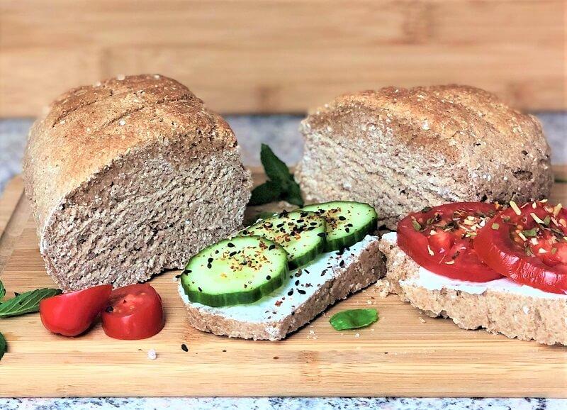 Buttermilch Haferflocken Brot gesund