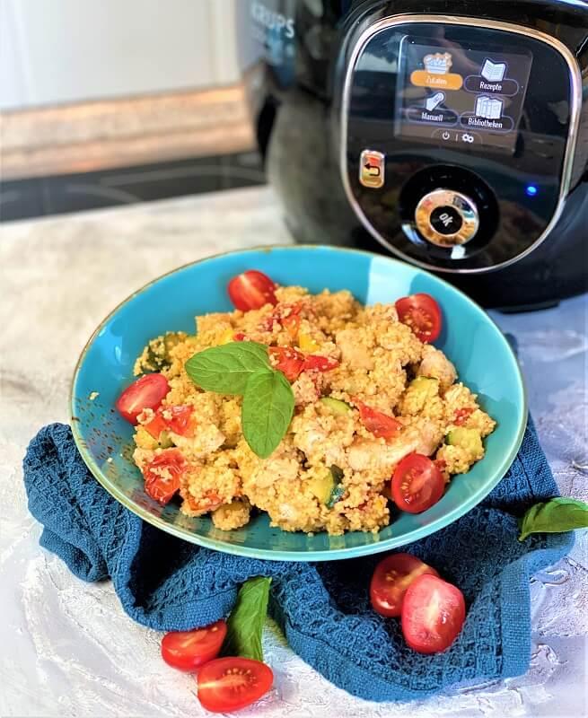 Kochen mit dem Cook4Me von Krups